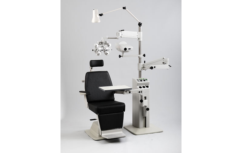 Combined with Ophthalmic Stand SN-500  sc 1 st  Takagi Ophthalmic Instruments Europe Ltd & UN-15 Ophthalmic Chair - Takagi Ophthalmic Instruments Europe Ltd ...
